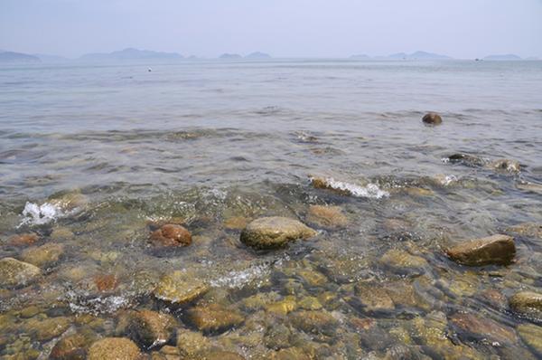 비진도해수욕장